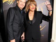 Tina Turner : Premier tapis rouge en cinq ans, au bras de son mari