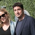Jason Biggs et sa femme Jenny Mollen (enceinte) arrivent à l'US Open à New York, le 10 septembre 2017. © John Barrett-Globe Photos via Zuma Press/Bestimage10/09/2017 - New York