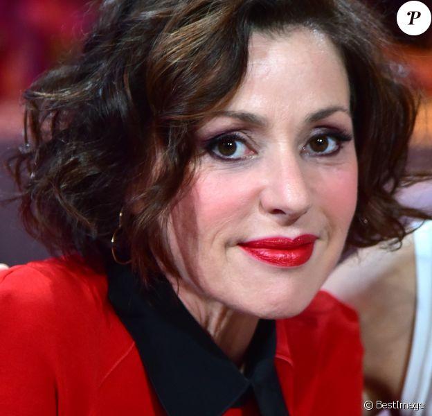 """Exclusif - Tina Arena - Enregistrement de l'émission """"Les Années Bonheur"""" N° 85 le 13 mars 2018. © Giancarlo Gorassini / Bestimage"""