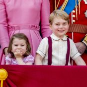 Kate Middleton a accouché : Les plus beaux moments de Charlotte et George