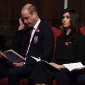 Prince William : Usé, il pique du nez à côté de Meghan Markle en pleine messe !