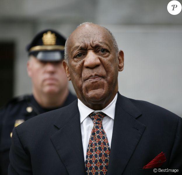 Bill Cosby lors de son 2ème procès pour agression sexuelle au tribunal de Norristown le 13 avril 2018.