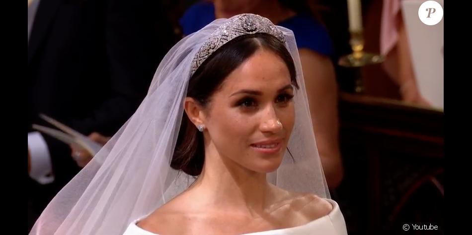 Mariage prince harry robe megan - Robe de mariee bustier transparent ...