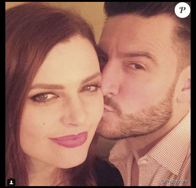 Elodie Frégé et Michal sur Instagram le 28 mars 2018.