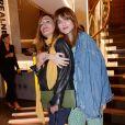 """Exclusif - Victoria Bedos et la chanteuse Louise Verneuil - Lancement de la capsule """"Longchamp by Shayne Oliver"""" à Paris, France, le 2 mai 2018. © Rachid Bellak/Bestimage"""
