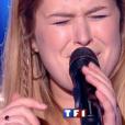 """Queen Clairie dans """"The Voice 7"""" sur TF1 le 3 février 2018."""
