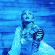 Madonna sur scène pour le Met Gala à New York, le 7 mai 2018.