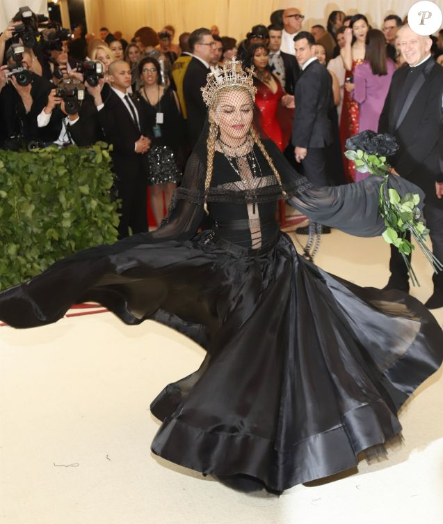Madonna -Met Gala à New York, le 7 mai 2018.