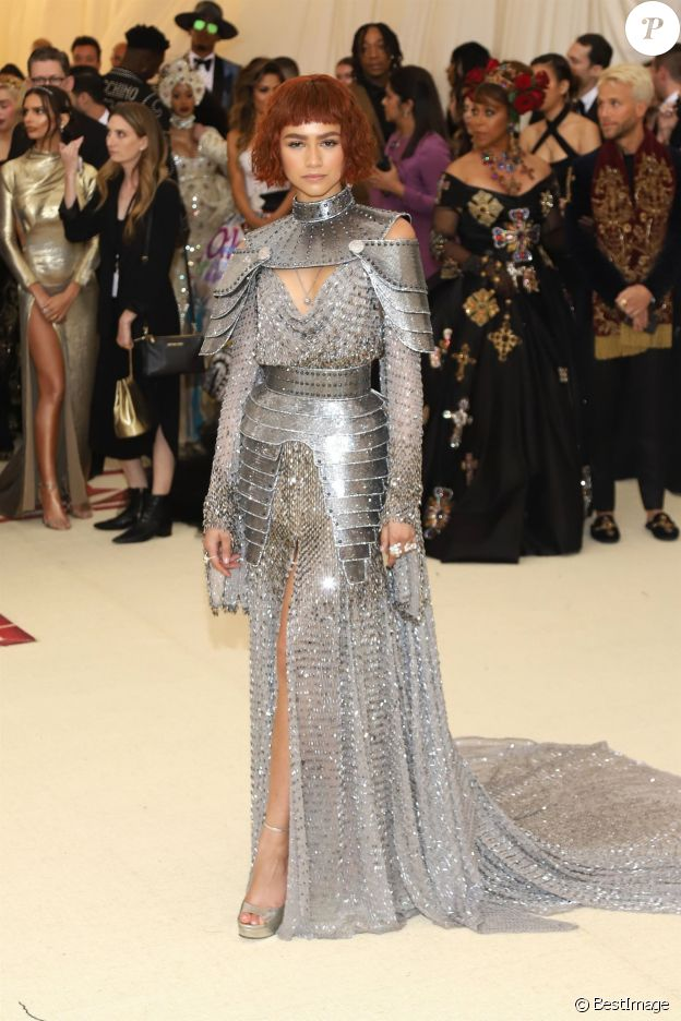 Zendaya au Met Gala à New York, le 7 mai 2018.