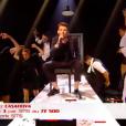 Casanova dans The Voice 7 sur TF1, le 12 mai 2018.