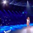 Maëlle et Vianney dans The Voice 7 sur TF1, le 12 mai 2018.