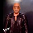 Pascal Obispo et Xam Hurricane dans The Voice 7 sur TF1 le 12 mai 2018.