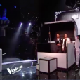 Casanova et Mika dans The Voice 7 sur TF1 le 12 mai 2018.
