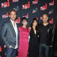 Vin Diesel pour Fast and Furious 4 et l'équipe du film à Paris