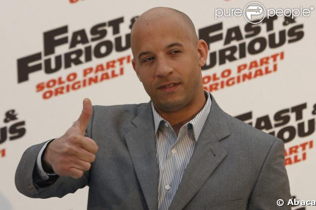 Vin Diesel pour Fast and Furious 4