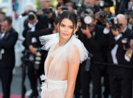 Kendall Jenner, poitrine nue sous sa robe transparente, embrase Cannes 2018