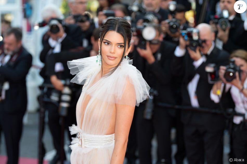 Kendall Jenner sur le tapis rouge de 'Girls Of The Sun (Les Filles Du Soleil)' au Festival de Cannes, le 12 mai 2018.