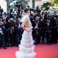 """Kendall Jenner (robe Schiaparelli, bijoux Chopard) - Montée des marches du film """" Les Filles du Soleil """" lors du 71ème Festival International du Film de Cannes. Le 12 mai 2018 © Borde-Jacovides-Moreau/Bestimage"""