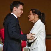 Stéphanie de Monaco : Tendre complice de son fils Louis Ducruet devant ASM-ASSE