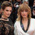 """Alessandra Ambrosio et Petra Nemcova - Montée des marches du film """"Blackkklansman"""" lors du 71ème Festival International du Film de Cannes. Le 14 mai 2018."""