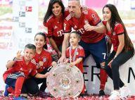 Franck Ribéry : Champion comblé avec Wahiba et leurs quatre enfants