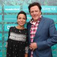 """Sandra Sisley et Michael Madsen - Soirée du film """"Trunk"""" à la Suite Sandra & Co lors du 71e Festival de Cannes, le 15 mai 2018."""