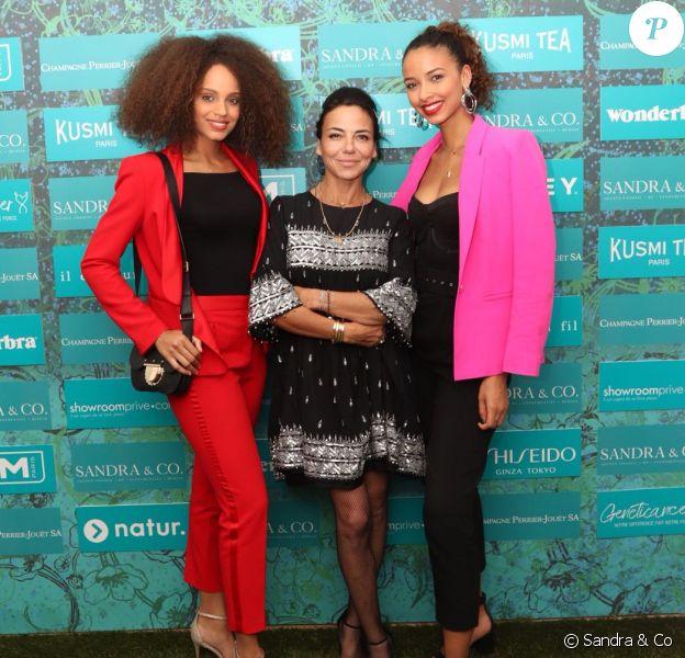 """Alicia Aylies, Flora Coquerel et Sandra Sisley - Soirée du film """"Trunk"""" à la Suite Sandra & Co lors du 71e Festival de Cannes, le 15 mai 2018."""