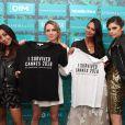 """Avechannah, Laetitia, Sara Liscia - Soirée du film """"Trunk"""" à la Suite Sandra & Co lors du 71e Festival de Cannes, le 15 mai 2018."""