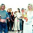 Kurt Cobain, Courtney Love et leur fille France Bean
