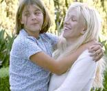 Courtney Love et sa fille Frances