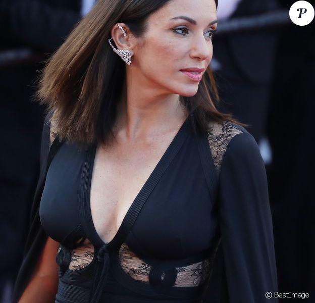 """Aure Atika - Montée des marches du film """"Capharnaüm"""" lors du 71ème Festival International du Film de Cannes le 17 mai 2018. © Borde / Jacovides / Moreau / Bestimage"""
