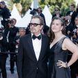 """Gary Oldman et sa femme Gisele Schmidt - Montée des marches du film """" Capharnaüm """" lors du 71ème Festival International du Film de Cannes. Le 17 mai 2018 © Borde / Jacovides / Moreau / Bestimage"""