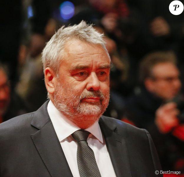 """Luc Besson - Avant-première du film """"Eva"""" lors du 68e festival du film de Berlin, La Berlinale, le 17 février 2018."""