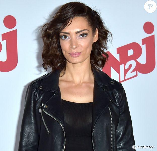 Emilie Nef Naf - Lancement de la saison 10 des Anges de la télé-réalité au restaurant Angie à Paris le 9 mars 2018.