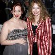 Mia Farrow et sa fille Dylan O'Sullivan Farrow enceinte à la soirée 'Time 100 Gala 2016' au Frederick P. Rose Hall de Lincoln Center à New York, le 26 avril 2016