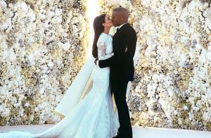 Kim Kardashian et Kanye West : 4 ans de mariage, ils s'échangent des mots doux