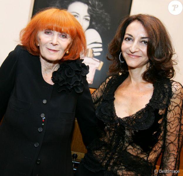 Nathalie et Sonia Rykiel à Paris, le 15 septembre 2005.