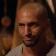 """Yassin lors du conseil final de """"Koh-Lanta : Le Combat des héros"""" (TF1) vendredi 25 mai 2018."""