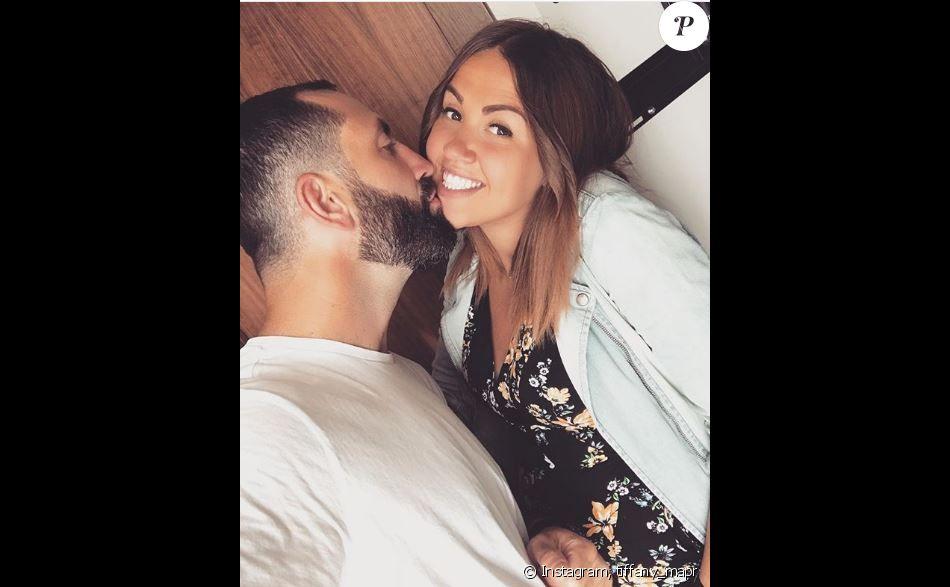 """Tiffany et Justin de """"Mariés au premier regard"""" complices sur Instagram, 27 mai 2018"""