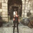 Après plusieurs semaines de régime, l'héroïne de Fort Boyard dévoile sa silhouette élancée sur Instagram, ce 29 mai 2018.