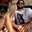Brody Jenner et sa chérie Kaitlynn Carter se sont fiancés. Photo publiée sur Instagram, le 6 mai 2016