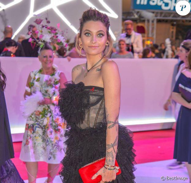 """Paris Jackson - People lors du """"Life Ball 2018"""" à Vienne, le 2 juin 2018."""