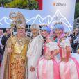 """Conchita Wurst - People lors du """"Life Ball 2018"""" à Vienne, le 2 juin 2018."""
