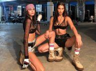 Bella Hadid : Canon avec Kaia Gerber, elle évite de peu le fashion faux pas