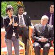 Rachida Dati était vendredi 10 avril à Dugny, salle Henri Salvador pour assister à un débat sur l'Europe au quotidien.