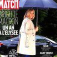 """Couverture du magazine """"Paris Match"""", numéro 3604 en kiosques le 7 juin 2018."""