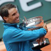 Rafael Nadal gigantesque à Roland-Garros devant sa compagne et sa petite soeur