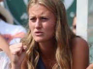 Kristina Mladenovic : Tendue pour soutenir son chéri Dominic Thiem battu