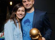 Marie-Ange Casalta et son mari : Passionnés et prêts pour la Coupe du monde !