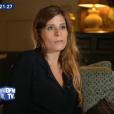 """Camille, amie d'enfance de Laura Smet, dans """"Johnny/Laeticia : à la vie à la mort"""", une enquête diffusée par BFMTV le 11 juin 2018."""